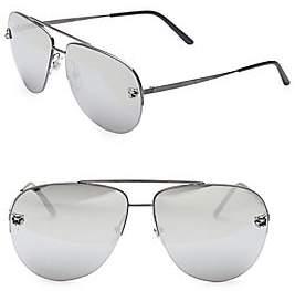 Cartier Men's Panthere Pilot Sunglasses