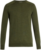 Oliver Spencer Blade crew-neck wool sweater