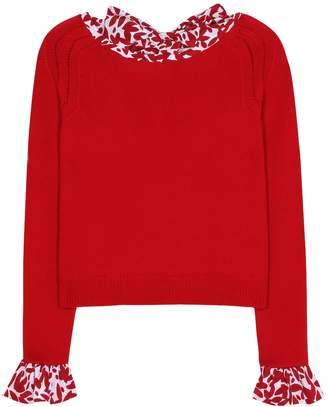 Oscar de la Renta Wool sweater