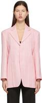 Thumbnail for your product : Jacquemus Pink 'La Veste D'Homme' Blazer
