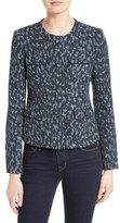Helene Berman Women's Collarless Tweed Jacket