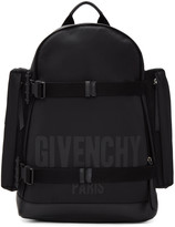 Givenchy Black Canvas Backpack