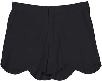 Chloé Black Silk Shorts