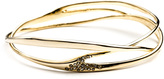 Alexis Bittar Gold Interlaced Bangle