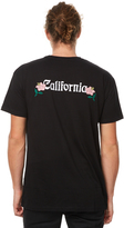 Stussy Cali Rose Mens Tee Black