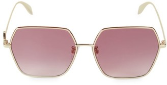 Alexander McQueen 60MM Hexagon Sunglasses