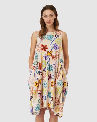 gorman Flowerbomb Tulip Dress