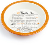 Martha Stewart Collection Pumpkin Pie Plate, Created for Macy's
