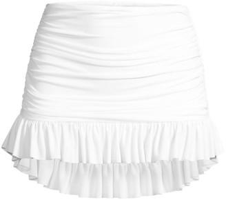 Norma Kamali Richie Ruched Bikini Bottom