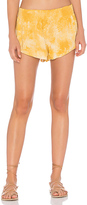 Blue Life Beach Bunny Short in Yellow. - size L (also in M,S,XS)