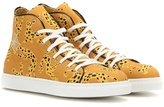 Charlotte Olympia Web Embroidered High-top Sneakers