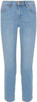 MiH Jeans Tomboy Cropped Slim Boyfriend Jeans - Mid denim