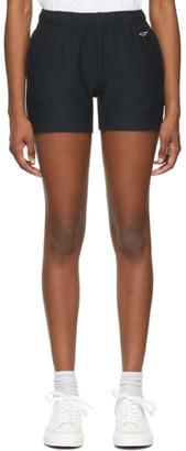 Rag & Bone Black Terry City Sweat Shorts