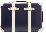 Globe-trotter Centenary 19 Leather-trimmed Fiberboard Travel Trolley - Navy