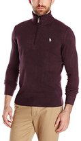 U.S. Polo Assn. Men's Solid Half-Zip Sweater