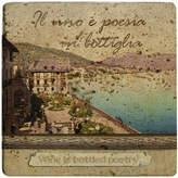 Thirstystone Ambiance Italian Inspirations Bottled Poetry Travertine Trivet