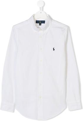 Ralph Lauren Kids TEEN long-sleeve shirt