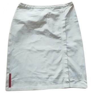 Prada White Skirt for Women Vintage