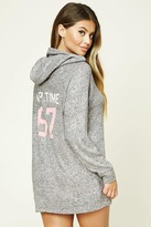 Forever 21 Nap Time PJ Hooded Sweater