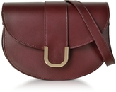 A.P.C. Soho Lie De Vin Leather Crossbody Bag