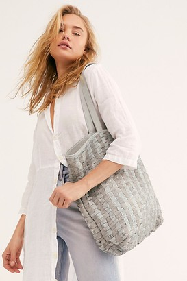 Free People Fp Collection Ren Woven Tote by FP Collection at