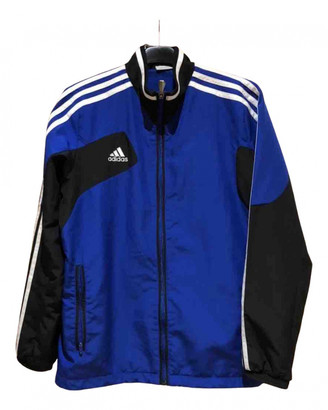 adidas Blue Polyester Jackets