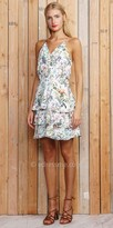 Greylin Cameron Floral Tiered Day Dress