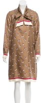 Max Mara Silk Printed Dress w/ Tags