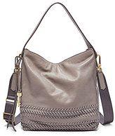 Fossil Maya Whip-Stitched Hobo Bag