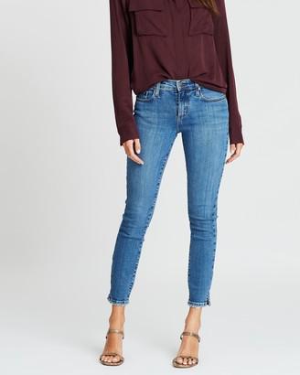 Nobody Denim Geo Skinny Ankle Jeans