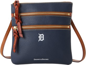 Dooney & Bourke MLB Tigers N S Triple Zip Crossbody