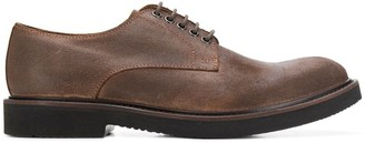 Eleventy round toe oxford shoes