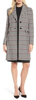 BOSS Women's Cunarda Houndstooth Coat