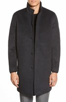 Vince Camuto Men's Laminated Topcoat