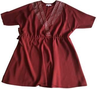 IRO Burgundy Polyester Dresses