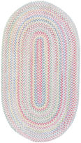 Capel Inc. Capel Baby's Breath Reversible Braided Runner Rug