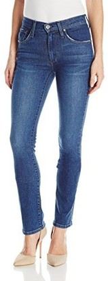 James Jeans Women's Hunter Flat High Rise Straight Leg in Victory 30