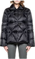 Fay Black Quilted Short Jacket Down
