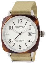 Briston Classic HMS Date - White Dial