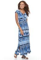 Dana Buchman Petite Shirred Maxi Dress