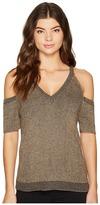 Splendid Surrey Marl Cold Shoulder Pullover Women's Clothing