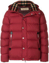 Burberry padded goose down jacket