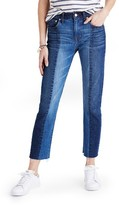 Madewell Women's Cruiser Crop Straight Leg Jeans