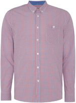 Merc Long Sleeved Micro Check Shirt