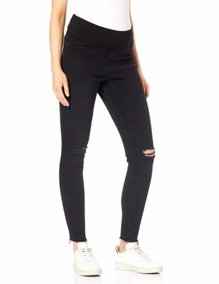 New Look Maternity Women's Venice Knee Skinny Jeans