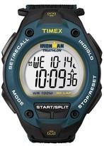 Timex Men's Ironman® Classic 30 Lap Digital Watch - Black/Blue T5K413JT