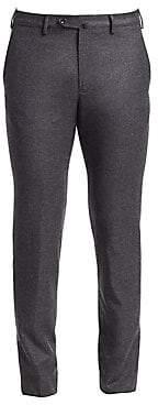 Loro Piana Men's Slim-Fit Wool Cashmere Pants
