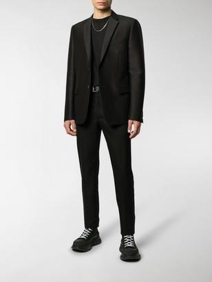Alexander McQueen Straight-Leg Logo Trousers