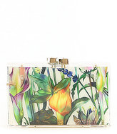 Kate Landry Watercolor Floral Clutch