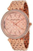 Michael Kors MK3399 Women's Darci Stainless Steel Watch with Crystal Accents